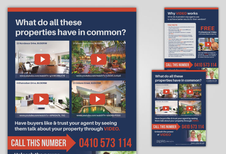 Aspire Estate Agents Video Brochure Design